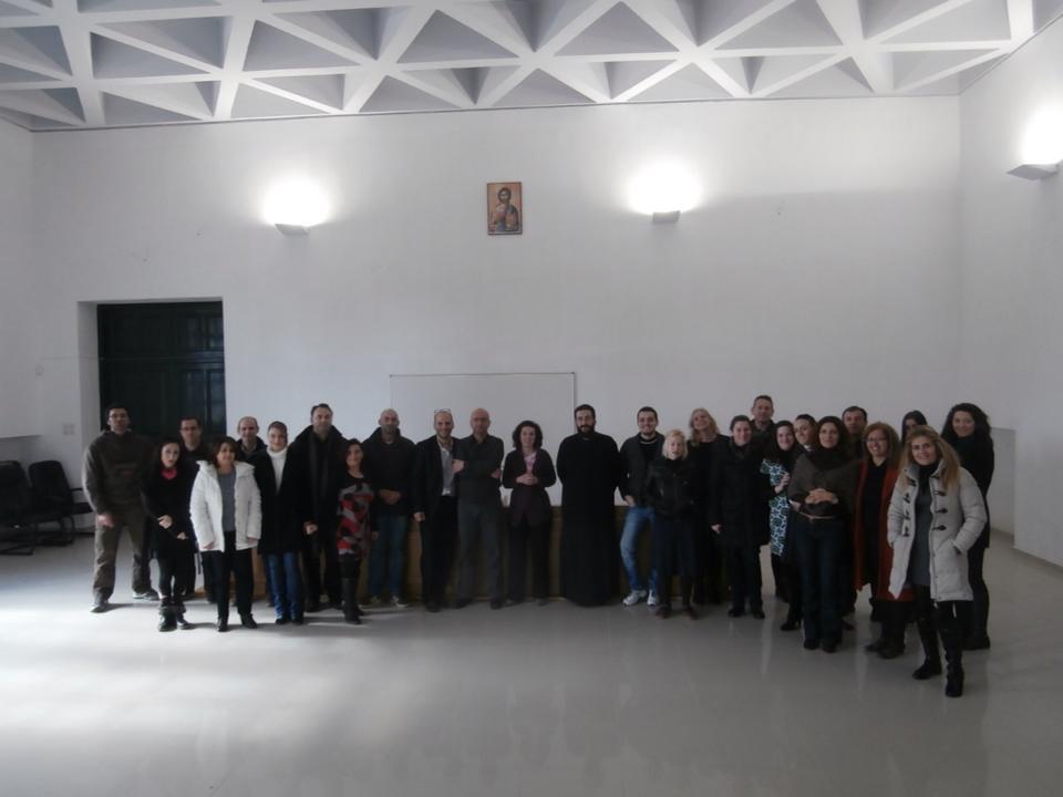 """1st Semester Joint Master's Program """"Moral Philosophy"""" -Image Courtesy of Dr Fereniki Panagopoulou"""